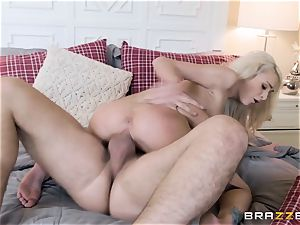 Emma getting pummeled rock-hard in her pussy