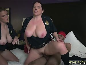 large hooter cougar group Noise Complaints make messy mega-bitch cops like me wet for phat