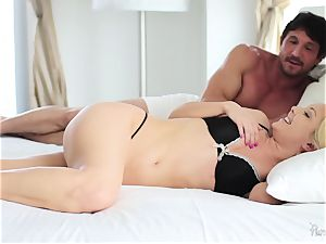 Aaliyah love woken for steamy romp