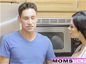 MomsTeachSex - very first Time threeway Is With Step mom