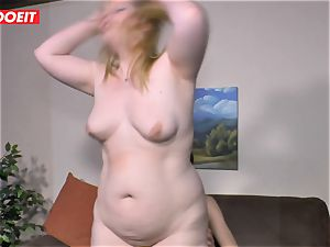LETSDOEIT - obese damsel Gets penetrated firm On fucky-fucky tape