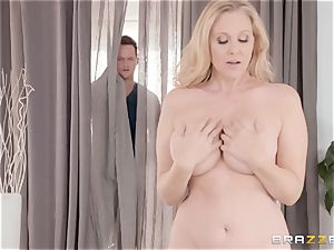 Julia Ann gets fondled inside and out