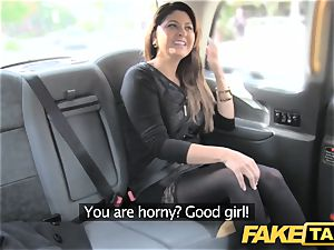 fake taxi enormous facial cumshot jizm shot for black-haired in tights