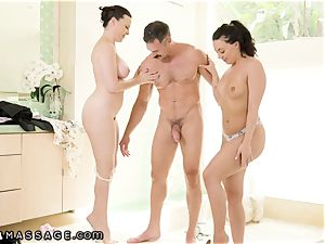 NuruMassage 3Way With Dana DeArmond