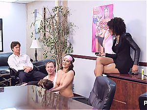 Getting insatiable in the office part 2