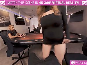 VRBangers.com-Busty honey is pummeling rock hard in this agent