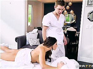 rectal massage for Adriana Chechik