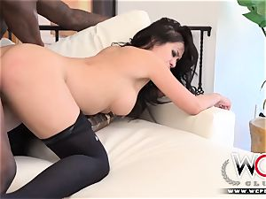WCP CLUB multiracial anal big black cock for small Kimmy Lee