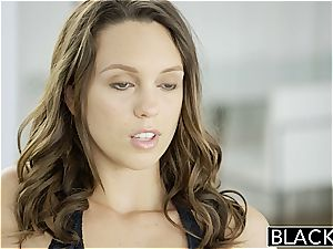 BLACKED pals Jade Nile and Chanel Preston love big black cock Together