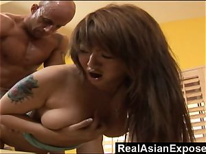 RealAsianExposed Bigboobed chinese babe is