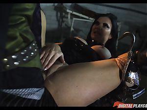 fantasy pummel with hook arm prostitute Jasmine Jae