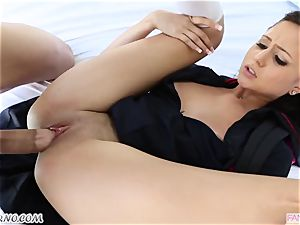 brutha screws his younger step-sister Ariana Marie after lessons
