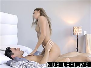 NubileFilms - cock-squeezing Coed nails And gulps