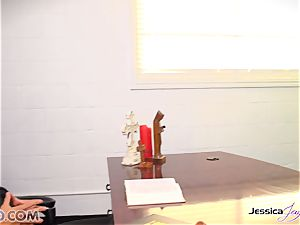 lesbians Jessica Jaymes and Nikki Benz barred enjoy