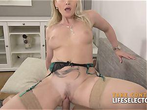 Kathia Nobili - buxom blond satiated With chisel