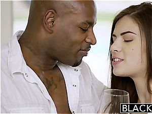BLACKED first-ever interracial For Pretty gf Zoe wood