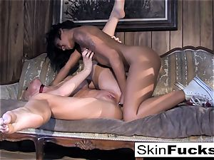 Skin's all girl Dr. Who rectal with Leya