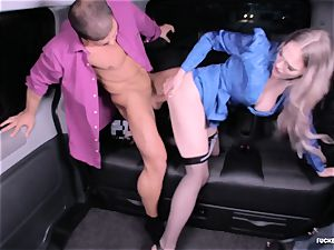 pummeled IN TRAFFIC - red-hot car romp with british Carly Rae