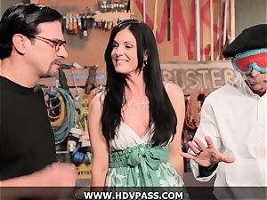 milf Busters India Summer ravaged with cum-shot