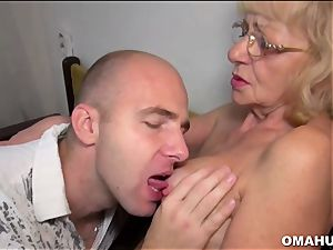 Lusty Mature bi-atch ravaged by a insatiable dude