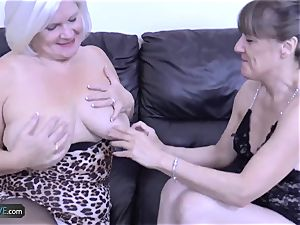 AgedLovE Mature light-haired Lacey Starr hard-core penetrate