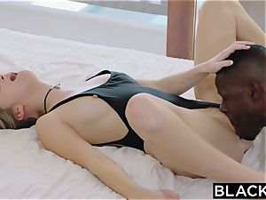 BLACKED.com blondie Gets first-ever bbc from Brothers mate
