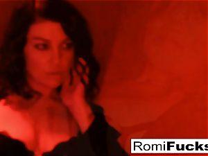 stellar victim Romi lets sir Sovereign dominate her