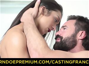casting FRANCAIS - fledgling hottie drilled and jizz covered