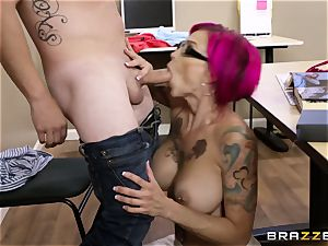 Oh my God! busty tutor Anna Bell Peaks seduces me during lesson