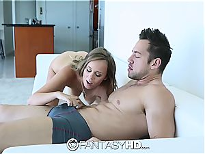 all-natural huge-titted Alexis Adams gets labia romped