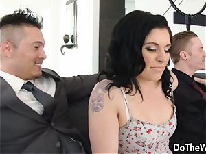 Swinger wife Cheats in Front of husband