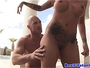 Austin Lynn gets extra mischievous for the manstick of Johnny Sins