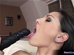 beauty Eve Angel oral fixation with her favourite dildo