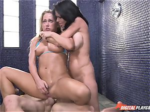 Carter Cruise almost passes out from extreme climax with Veronica Avluv