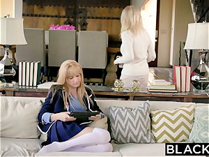 BLACKED first interracial For Rich gal Riley Nixon