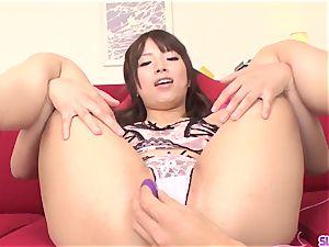 Hinata Tachibana epic bedroom sex with toys