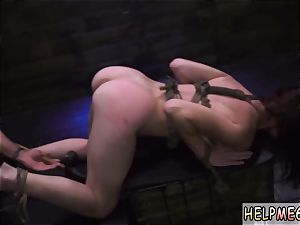 foot victim bondage hard-core She s desperate!