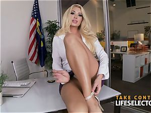 gonzo busty ash-blonde cutie Compilation