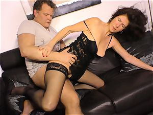 xxx OMAS - gonzo pummeling with German mature lady