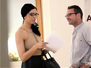 uncovered audition - huge-titted Russian stunner nailed in audition
