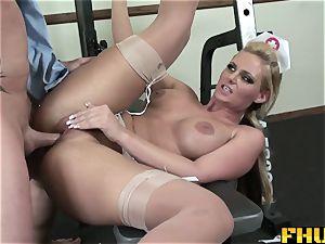 FHUTA physician providing Phoenix Marie a utter