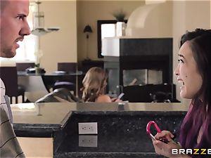 Mean mommy Akira Lane boinks her daughters boyfriend
