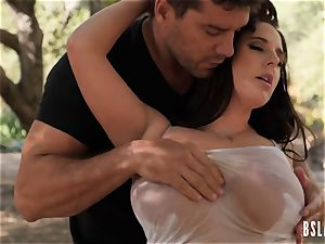 super-naughty pornstar pulverized in outdoors