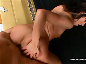 Czech Victoria Rose Visits Private's audition sofa