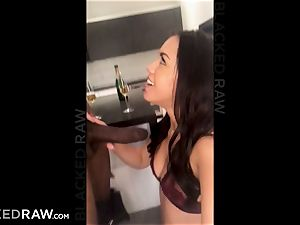 BLACKEDRAW nubile records her first-ever bbc