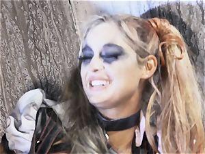 Suicide crew parody Sn five Kleio Valentien slobber roasted