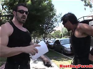 Courtney Cummz on bountry hunters fuckpole