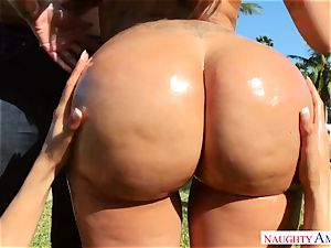 Lela star, Luna star - I enjoy large latin culos on my salami