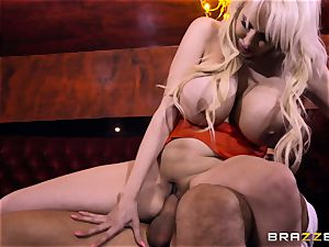 Keiran Lee pecker inserting Sandra starlet
