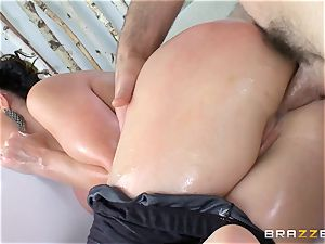 Nikki Benz anally penetrated deep by Charles Dera